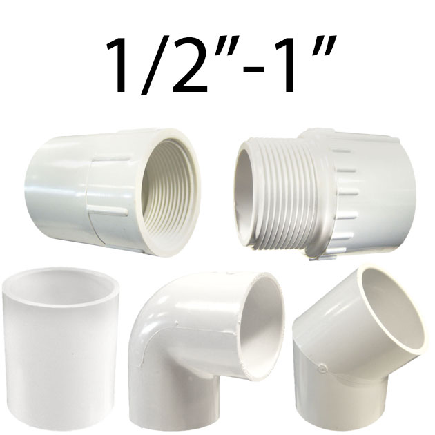1/2in.-1in. Plumbing Fittings