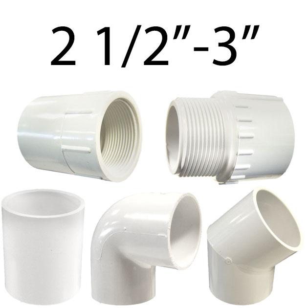 2 1/2in.-3in. Plumbing Fittings