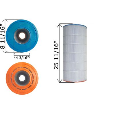 Cartridge Filter Sta-Rite 100TX 100GPM-TX 100TXR UHD-SR100