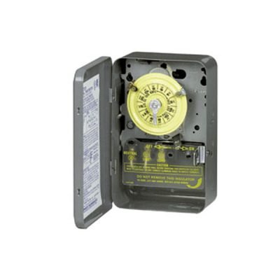 Intermatic 110V Mechanical Timer Steel Case T101