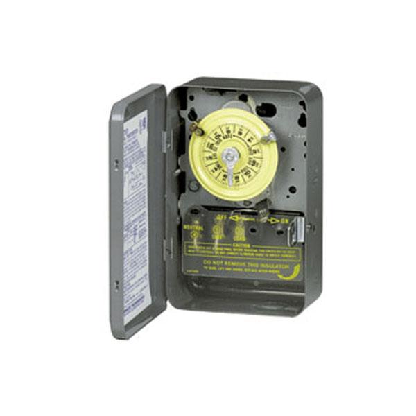 Intermatic 110V Mechanical Timer Steel Case T101