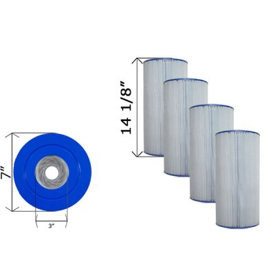 Cartridge Filter Clean & Clear Plus American Quantum C-7469 - 4 Pack