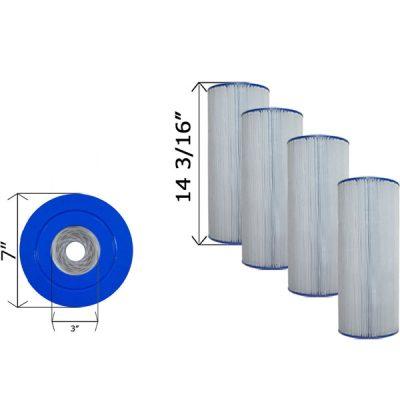 Cartridge Filter Hayward CX470XRE Sta-Rite PRC 50 C-7447 C-7458- 4 Pack