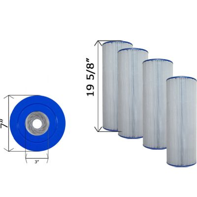 Cartridge Filter Hayward CX570RE Sta-Rite PRC 75 C-7483 - 4 Pack