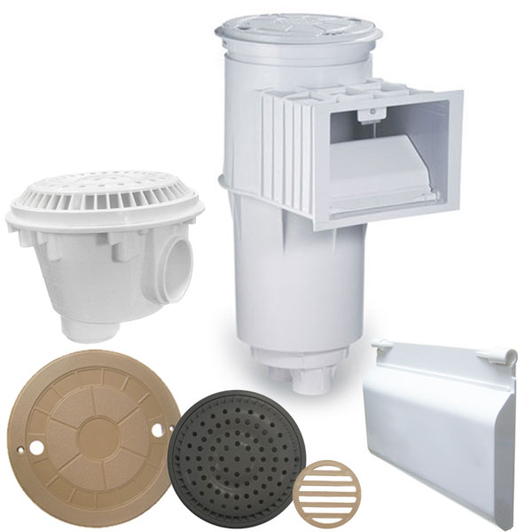 Skimmers Drains & Parts